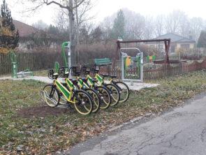 Rower miejski zaparkował na Zagrodzieńskiej