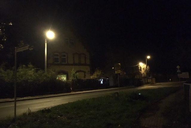 Usterki oświetlenia ulicznego usunięte